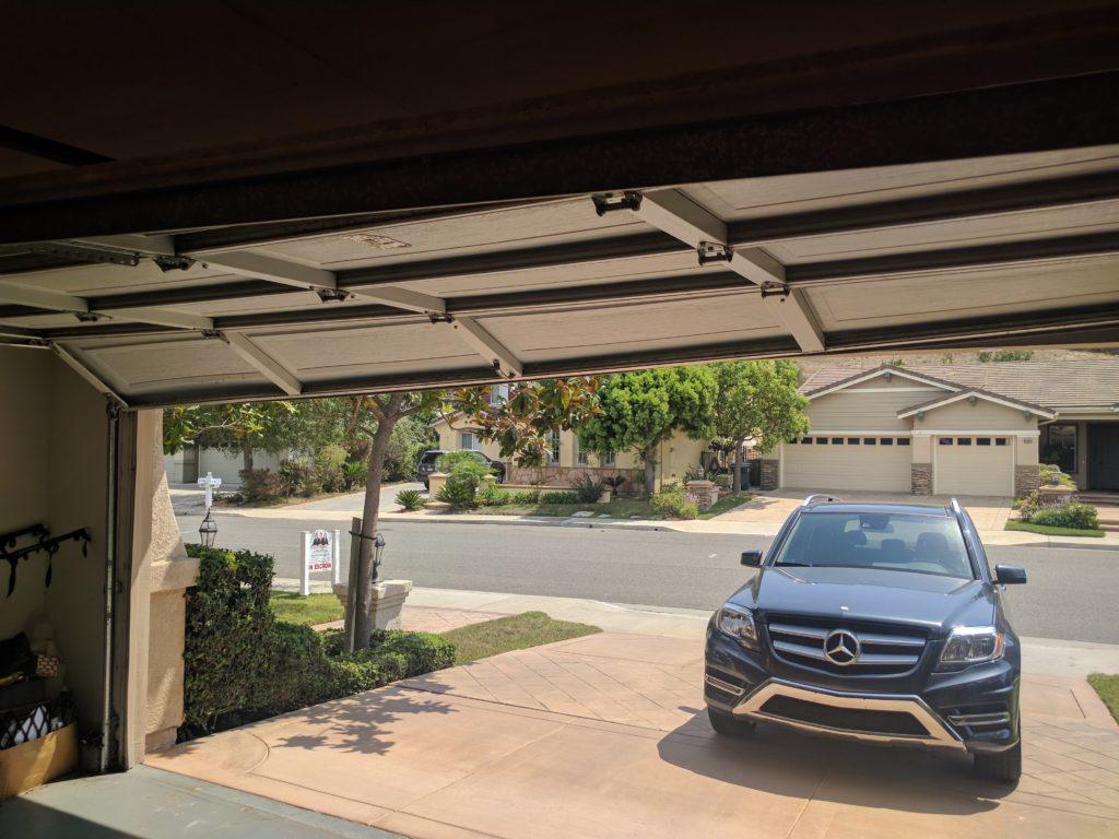The Ventura garage door